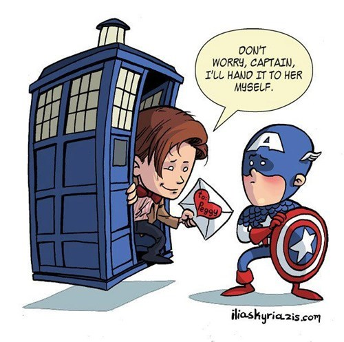 time doctor who captain america sadness - 6844703488