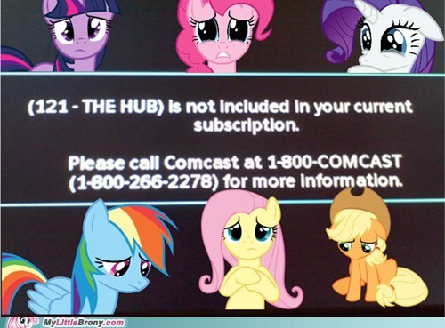Sad comcast the hub TV - 6844789760