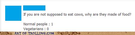 vegans vegetarians cows - 6845482496