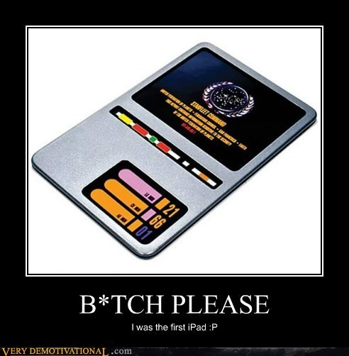 ipad,first,Star Trek