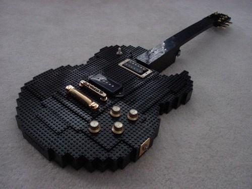 guitar,lego
