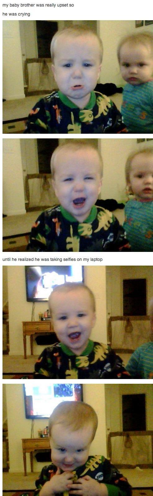 Babies,self shots