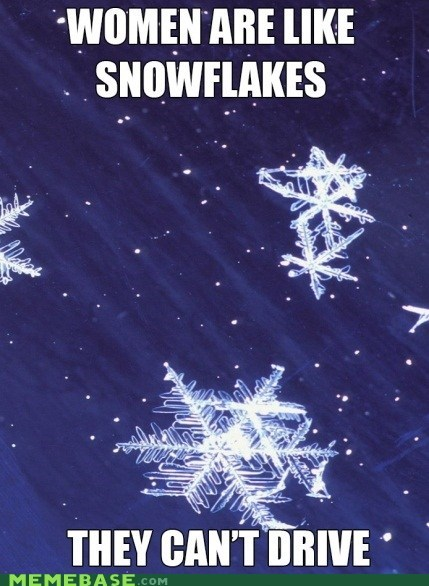 jingle memes driving snowflakes women - 6847183872