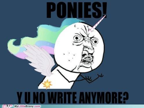 letters,Memes,celestia,Y U No Guy