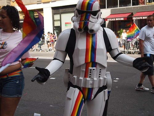 star wars,stormtrooper,gay pride
