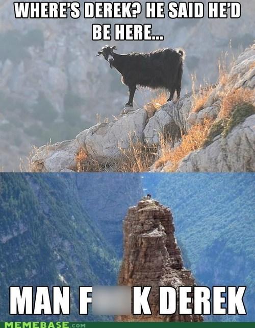 goat wtf derek stranded goat - 6847348224