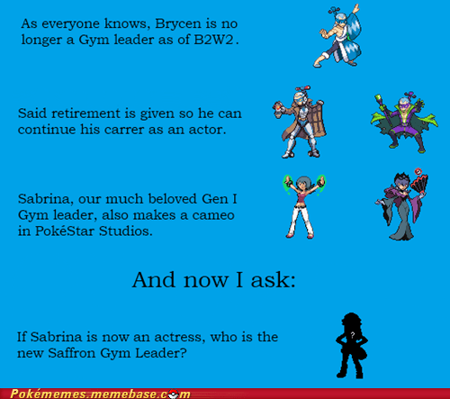 sabrina theories pokestar studios gym leader