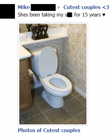cutest couples putting up with my crap relationships crap couples toilet failbook - 6847537152