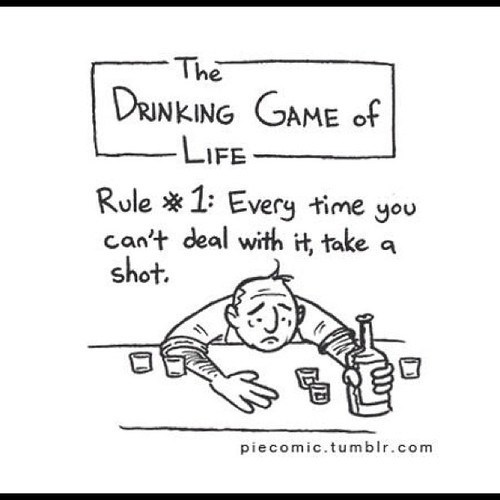pie comic drinking game of life can't deal with it drinking games - 6847695616