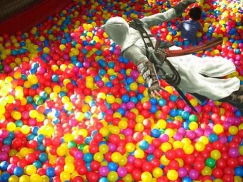 balls recreation assassins creed fun pit - 6847718912