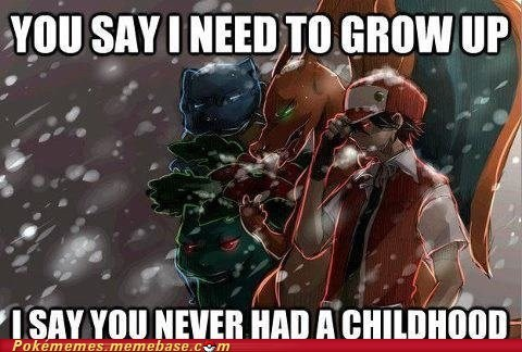 Pokémon,red,grow up,evolution