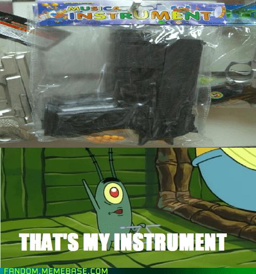 guns musical instrument cartoons SpongeBob SquarePants - 6848027392