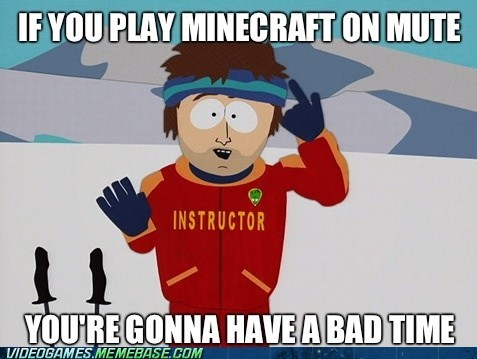 creeper mute Memes minecraft super cool ski instructor - 6848061696