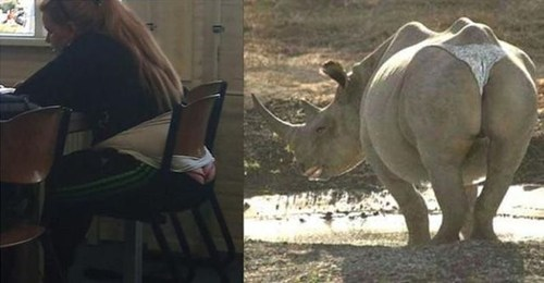 who wore it better rhino thong