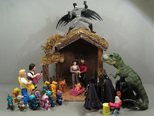 Nativity Scene action figures - 6848273920