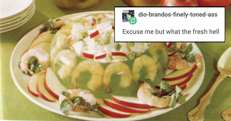 50s disturbing tumblr gross 1950s funny tumblr posts no thanks oh god why housewife gross food disgusting why terrible food nope - 6848773