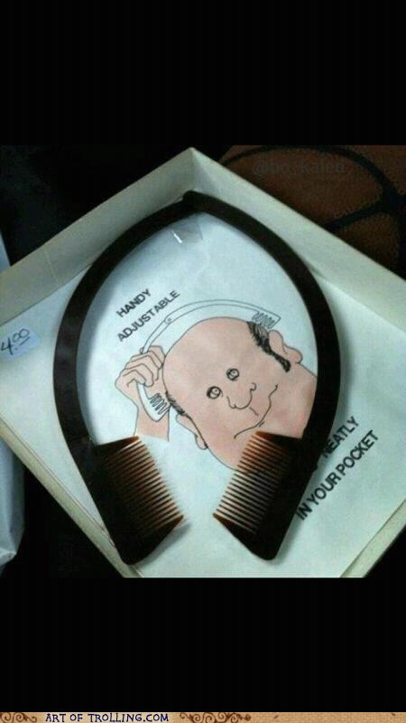 hair,good idea,comb,bald