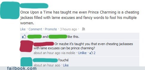 prince charming,cheating,jackass