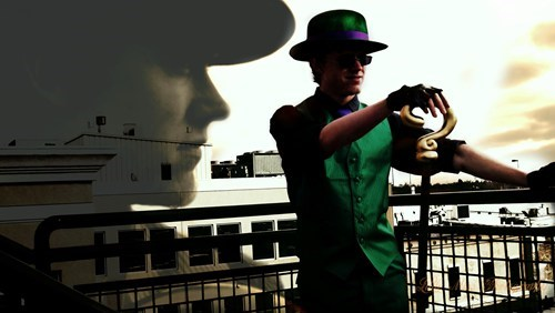 cosplay the riddler batman - 6849361920