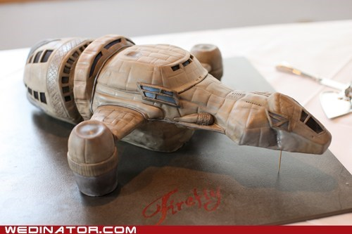 cake,grooms-cake,serenity,Firefly,ship,accurate