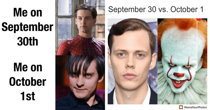 Funny memes, september 30th october 1st