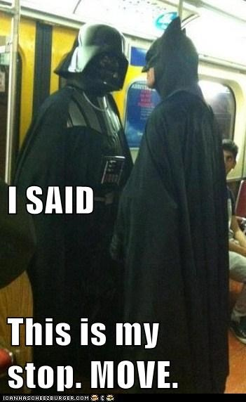 move,star wars,Subway,batman,stop,darth vader