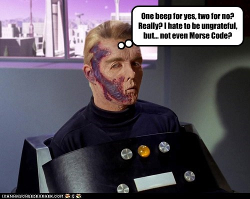 captain pike beeps the menagerie really morse code - 6850233856