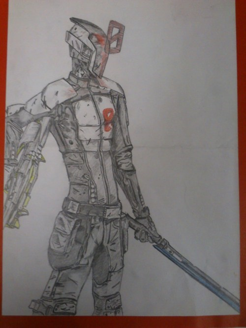 Fan Art,zer0,borderlands 2,video games