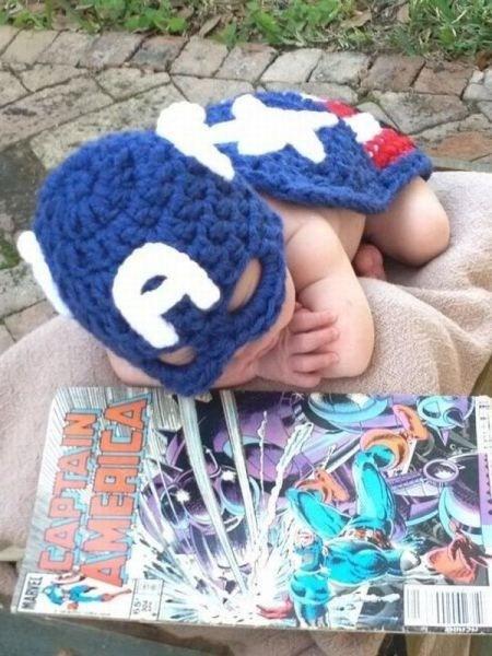 baby costumes captain america - 6850626304