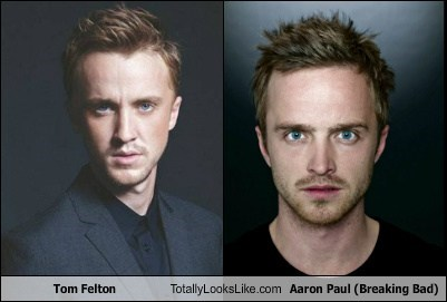 aaron paul breaking bad actor TLL amc TV tom felton funny - 6850742272