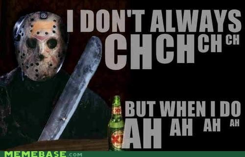 horror,firday the thirteenth,jason voorhees,most interesting man