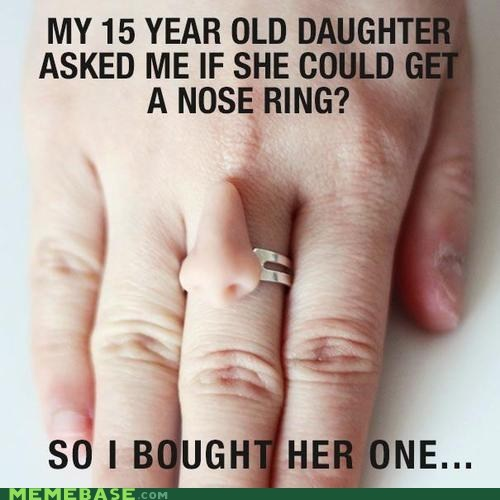 accessories parenting nose ring