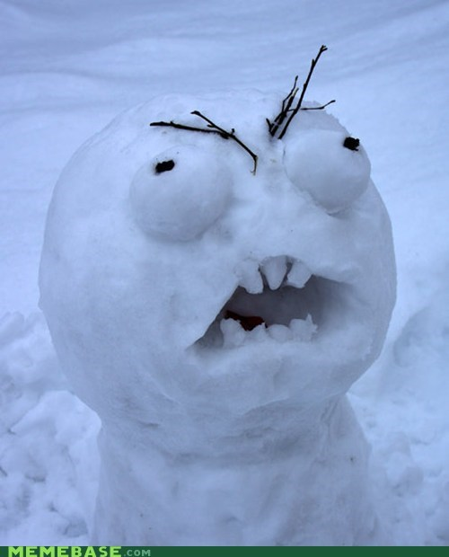 rage faces,jingle memes,winter,snowman