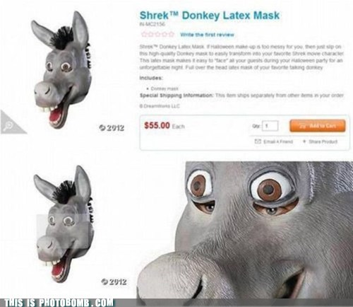 SOON,creepy,eyes,donkey,when you see it,shrek