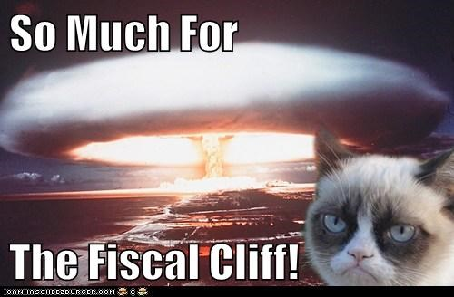 So Much For  The Fiscal Cliff!