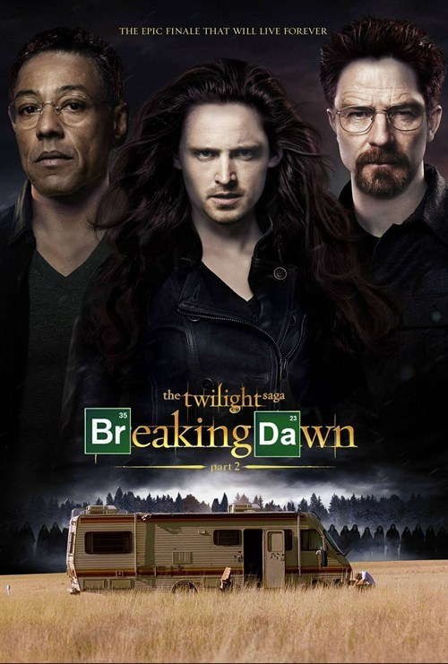 aaron paul breaking dawn breaking bad walter white gus fring bryan cranston twilight jesse pinkman giancarlo esposito - 6851473152