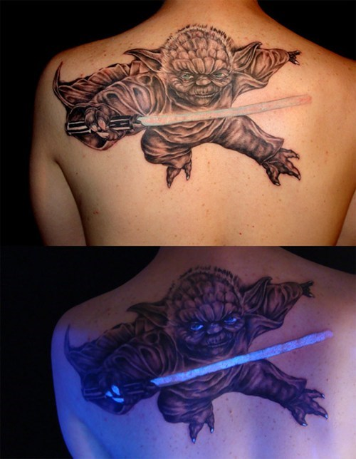 back tattoos,yoda,win