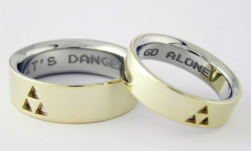 legend of zelda,wedding bands,nerdgasm,wedding,g rated,win