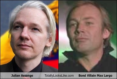 julian assange,TLL,max largo,Klaus Maria Brandauer,funny