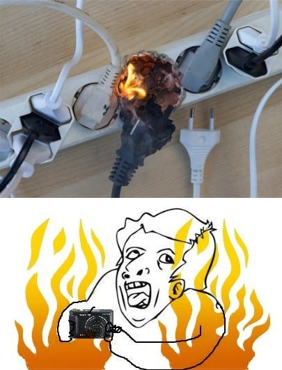electrical fire,photo op,fire,genius