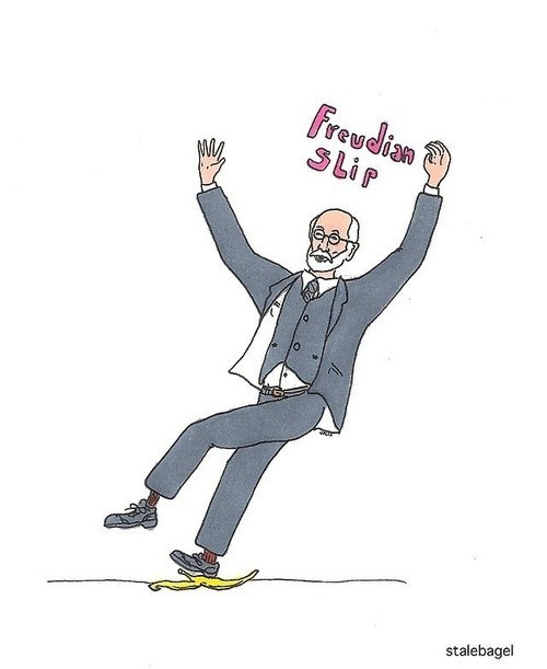 freud slip freudian slip literalism Sigmund Freud double meaning - 6851930880
