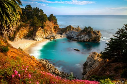 california beach big sur pretty colors - 6852022272