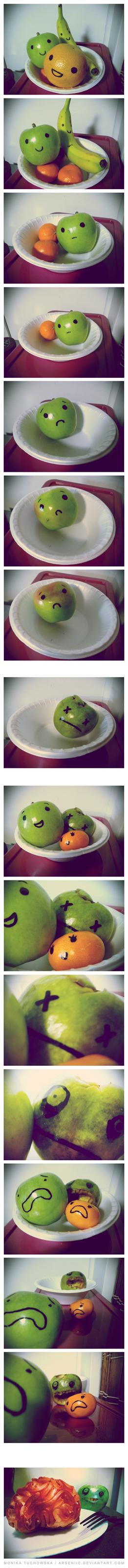 brains zombie apocalypse apple fruit - 6852802560