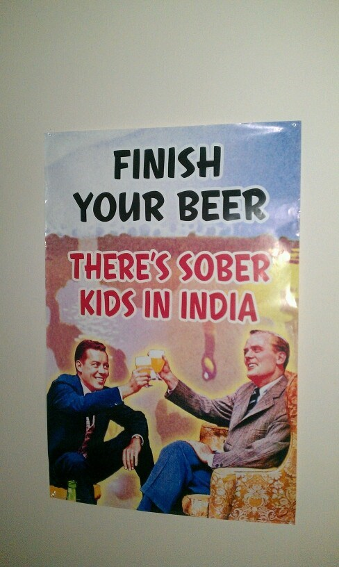 finish your beer sober kids india children - 6853886976
