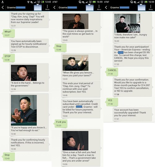 kim jong-un android fearless leader AutocoWrecks - 6853979648
