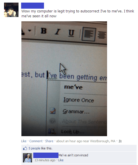grammar nazi,autocorrect,microsoft word,failbook,g rated