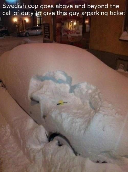 parking ticket Sweden - 6854357248