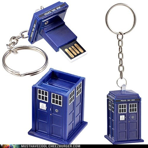 tardis,doctor who,flash drive