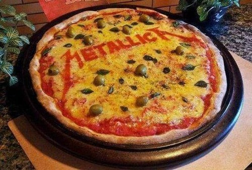 metallica pizza - 6854427136
