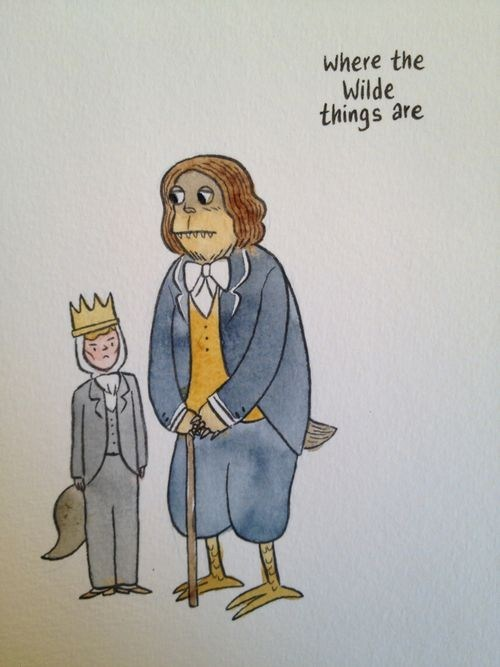 where the wild things are,oscar wilde,literalism,maurice sendak,double meaning